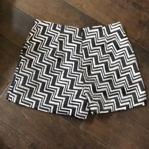 Forever 21 Shorts - Black and white high waisted dress shorts